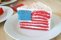 How To Make A Hidden Flag Cake