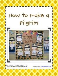 Cute Pilgrims for your door!