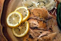 Lemon and Herb Crock Pot Chicken