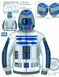 Droids In The Hoodie... R2-D2 + other Star Wars hoodies