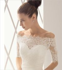Lace dress with off the shoulder neck line. Beautiful. ~REB