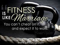 �€œYou have to stop cheating if you and fitness want to last.�€