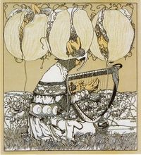 Carl Otto Czeschka, �€œRitter�€, Lithograph, 1897 (via GRAPHIC DESIGN OF FIN-DE-SI�ˆCLE VIENNA)