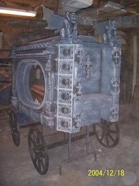 death carriage? Such a cool prop!