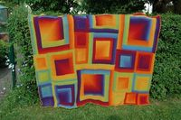 psychedelic blankie