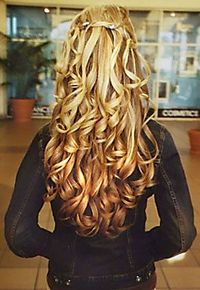 wish my hair was long enough to do this
