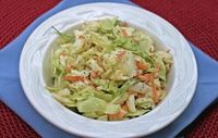 Whole Foods Makeover: Sweet & Tangy Coleslaw