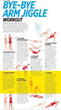 get rid of that under arm fat