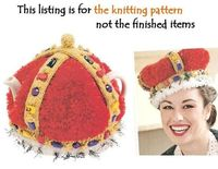 Crown Jewels Royal Tea Cosy Knit Pattern