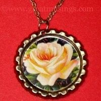 How to Make Bottle Cap Necklaces and Pendants