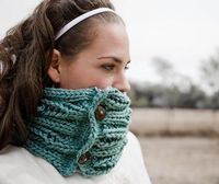 love aqua. would have to love knitting, but I could re-create with crochet..