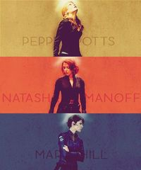 Women of the Avengers.