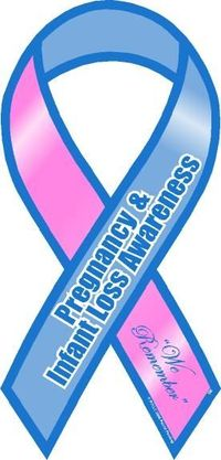 October is Pregnancy & Infant Loss Awareness Month. I miss my babies.