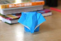 Little origami elephant | How About Orange