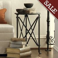 classy, tall end table