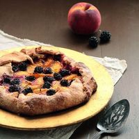 Peach & Blackberry Galette - Pastry Affair
