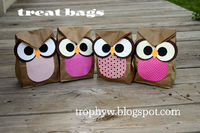 Owly Party Bags for Halloween Maybe?