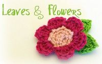 I am addicted to crocheting flowers! http://easymakesmehappy.blogspot.com/2010/05/materials-yarn-in-any-weight-and-color.html