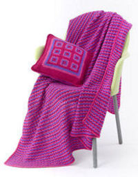 Afghan and pillow pattern