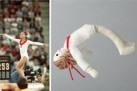 Knitting patterns for Olympics Stars!!! Of course me favorite is Olga! :P