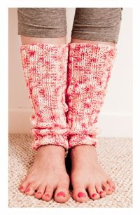 Leg Warmer Knitting Pattern-Leg Warmer Knitting Pattern