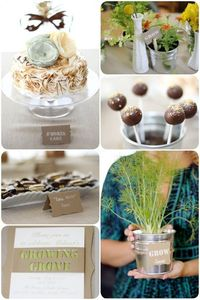 Rustic Grow Themed Baby Shower