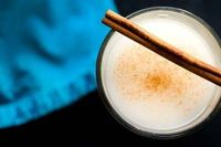 Horchata Horchata (Adapted from Rick Bayless) Ingredients: 2/3 cup of uncooked rice 1 1/4 cups of blanched almonds 1 teaspoon of lime juice Zest from one lime 1 cinnamon stick 1 teaspoon vanilla extract 1 cup of sugar or brown sugar, depending on ...