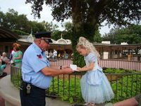 �€œThis would be a man that loves going to work and does not dread it the night before. Upon entering the Magic Kingdom, one of the security guards said to the girl �€œExcuse me Princess, can I have your autograph.�€ I could se...