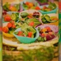 Watermelon Grape & Cherry Tomato Salad~~Anthropologie Nibbles