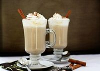 white hot chocolate with pumpkin spice