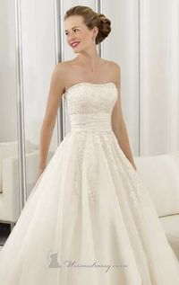 2415 Tulle and Venice Lace Dress by Bridal 		 by Bridal by Mori Lee 		 code: 2415