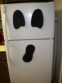 ghostly fridge cute