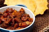 cranberry BBQ beef oven stew
