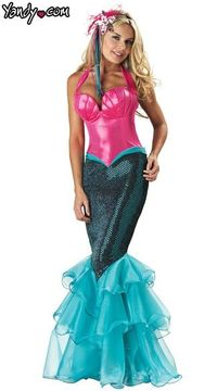 I can finally be Ariel!!!!!!!!! This is a Halloween MUST!