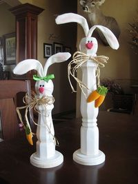 Table Leg Rabbits