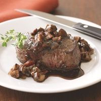 Filets Mignons with Bourguignonne Sauce..oh my.