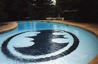 BATMAN POOL!!!