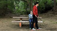 This Is Probably Offensive If One Of 'Em Can See - Blind Fight #Comedy Short Film