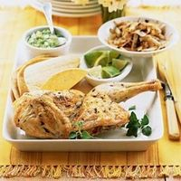 Roast Chicken and Onion Tacos