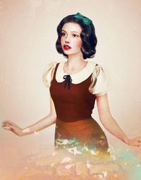 Realistic Disney Princess Art