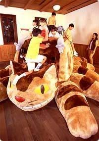Catbus at the Studio Ghibli Museum in Japan !!!!
