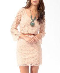 Scalloped Lace Dress $24.80