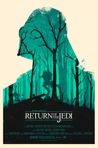 Star Wars posters by Olly Moss. Love it!