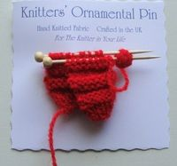 BroochpostGift for Knitter