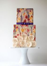 maggie austin watercolor cakes