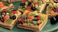 Mexican Snack Squares