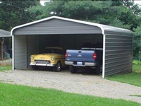 2 car carport - 3 sides