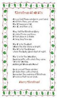 M and M poem about the three wise men