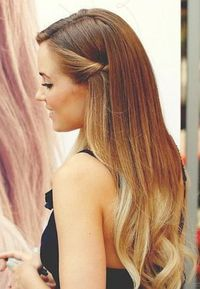 This is the kind of ombre I like.