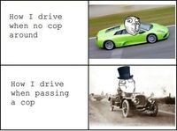 funny meme comic driving- Lol Image